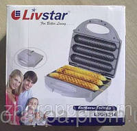 Хот дог на палочке, Livstar 1216, аппарат для приготовления корн догов, на три сосиски.