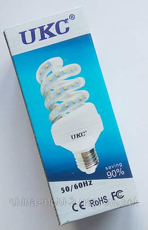 Светодиодная лампа LED UKC 220V 7W E27 Спиральная 4023, фото 2