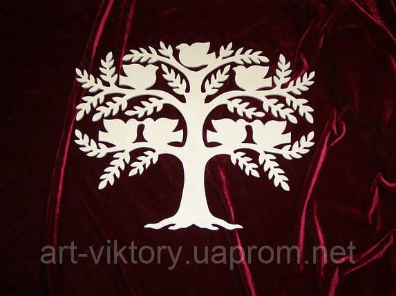 Дерево с птичками, декор, фото 2