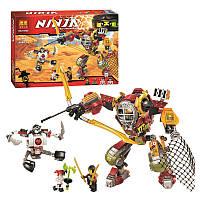 Конструктор нинзяго робот Ninjago bela 10525