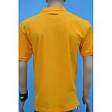 50/XL Футболка поло з бавовни в помаранчевому кольорі, фото 3