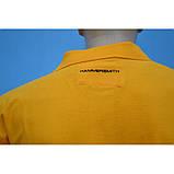 50/XL Футболка поло з бавовни в помаранчевому кольорі, фото 4