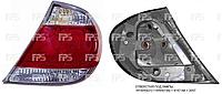 Фонарь задний левый (отверстия для 4-х ламп) (тип USA) для Toyota Camry -04, производства DEPO -патроны