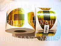 Формы желтые широкие, двойная толщина, 50шт