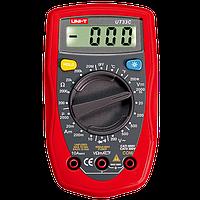 Мультиметр цифровой портативный для измерения напряжения электричества UNI-T UTM 133C (UT33C)