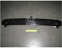 Усилитель бампера переднего нижний широкий Hyundai Getz 02-05 (дорестайл)