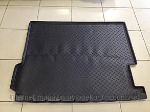 Коврик в багажник для BMW X3 F25 2010- Норпласт