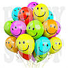 Воздушные шарики Gemar Смайл ассорти 12'(30 см) 100 шт