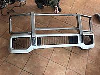 Передний бампер с защитной дугой Mercedes G-class W463 (оригинал, б/у)
