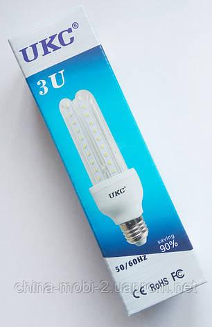 Светодиодная лампа LED UKC 220V 7W E27 Длинная 4018, фото 2
