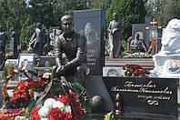 Скульптура из бронзы мужчине № 42