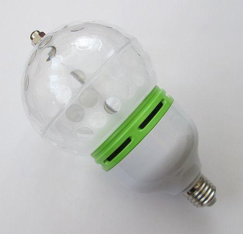 Огромная вращающаяся диско лампа 9W; Е27; 21*11см