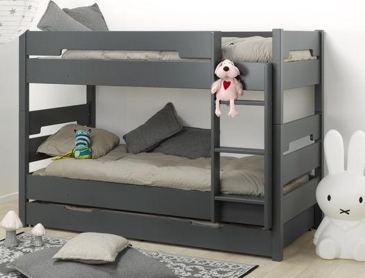 Двухъярусная кровать  для подростков Junior Provence  Lit Superpose MILO ardoise