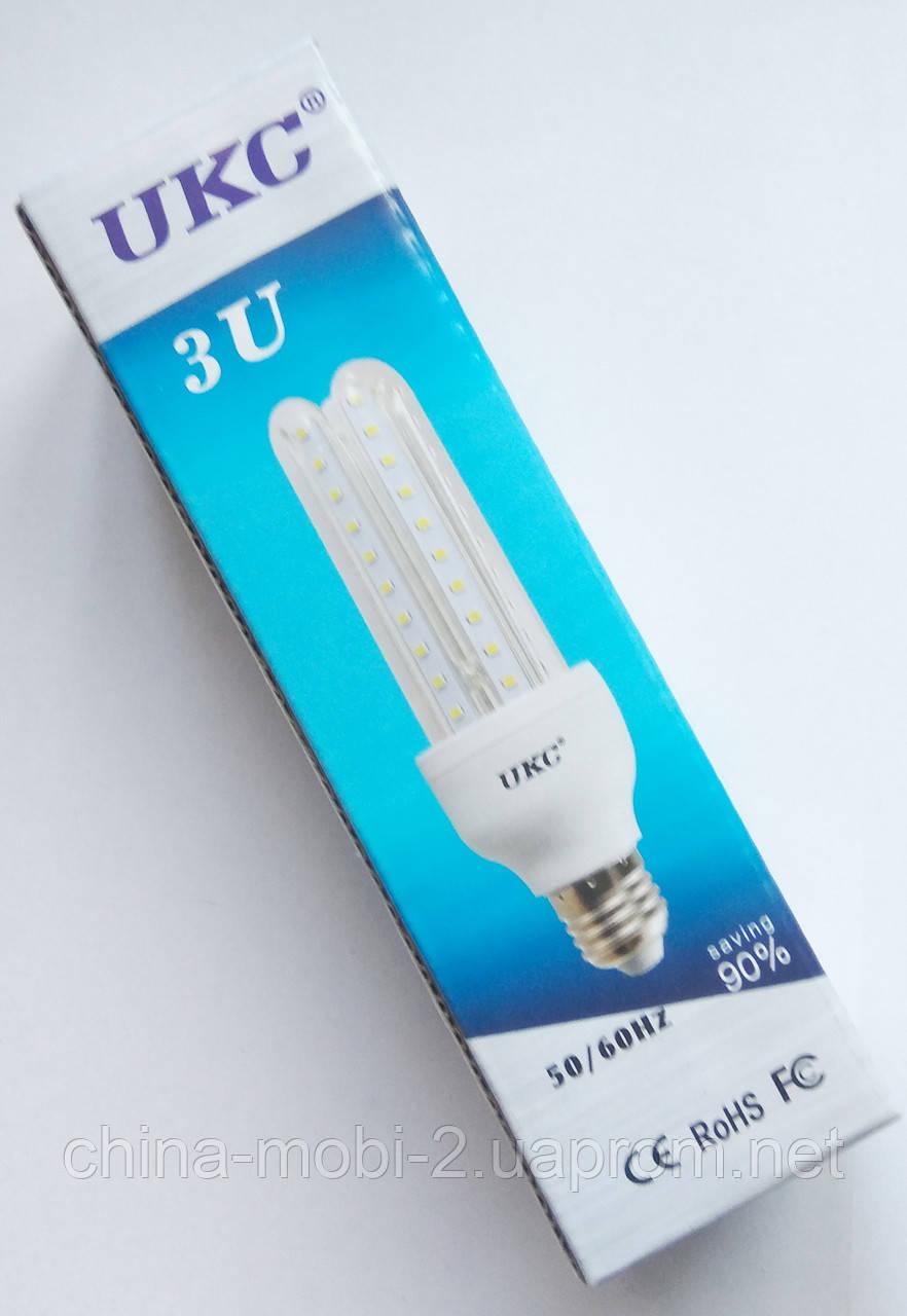 Светодиодная лампа LED UKC 220V 5W E27 Длинная 4017