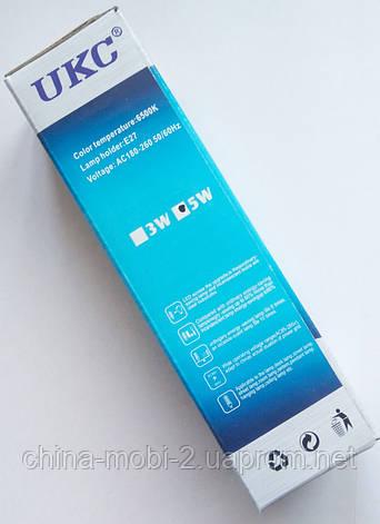 Светодиодная лампа LED UKC 220V 5W E27 Длинная 4017, фото 2