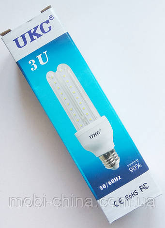 Светодиодная лампа LED UKC 220V 3W E27 Длинная 4016, фото 2