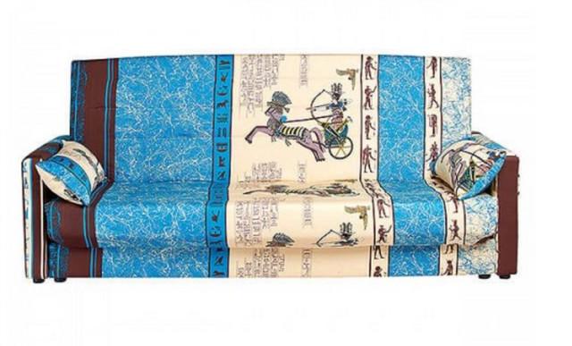 Диван Ньюс с подлокотниками мех., Клик-кляк (Ткань поликотон) вид спереди