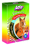 Lolo pets корм гранулированная люцерна для грызунов 350гр