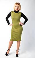 Модное платье из качественной турецкой ткани на натуральной основе