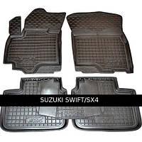 Коврики в салон Avto Gumm 11501 для Suzuki Swift 2012-