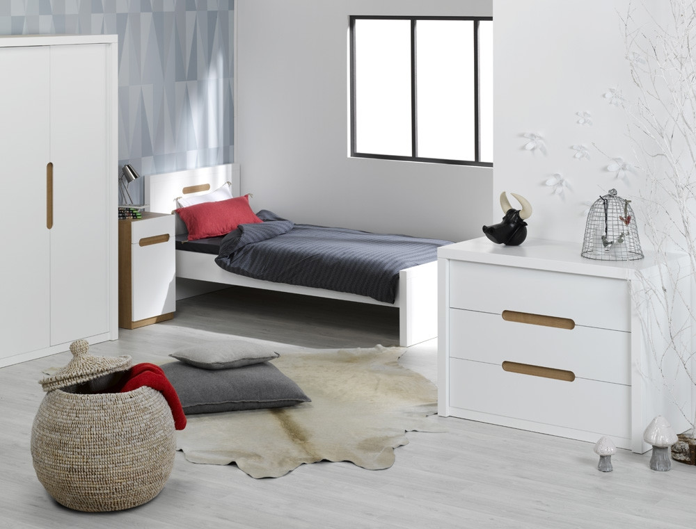 Комплект в детскую комнату Junior Provence chambre MILO blanc