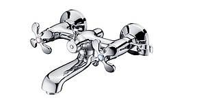 Смеситель для ванны Тритон Рио 12004-F134 двухзахватный