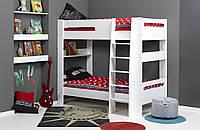 Двухъярусная кровать  для подростков Lit Superpose LONDON Blanc