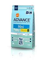 Корм для ЩЕНКОВ малых пород Эдванс Advance Dog Mini Puppy 3кг
