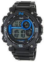 Часы водостойкие 100м Q&Q m133j003y (unisex).