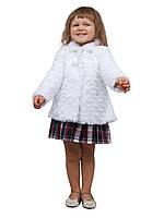 Болеро - шубейка для девочки из меха рост 92-116