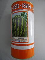 Семена  Арбуза 0,5 кг сорт  Цельнолистный в банке