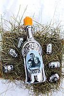 """Набор для алкогольных напитков который состоит из бутыли и 6 рюмок """"Первак"""""""