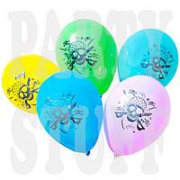 Воздушные шарики Gemar Пират ассорти 12'(30 см) 100 шт