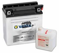 Мотоаккумулятор12N9-4B-1 \4B9-B  кислотный  фирменный VARTA 136/ 76/ 134