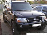 Рейлинги Mitsubishi Pajero Wagon 3 1998-2006 Оригинальная модель (черные)