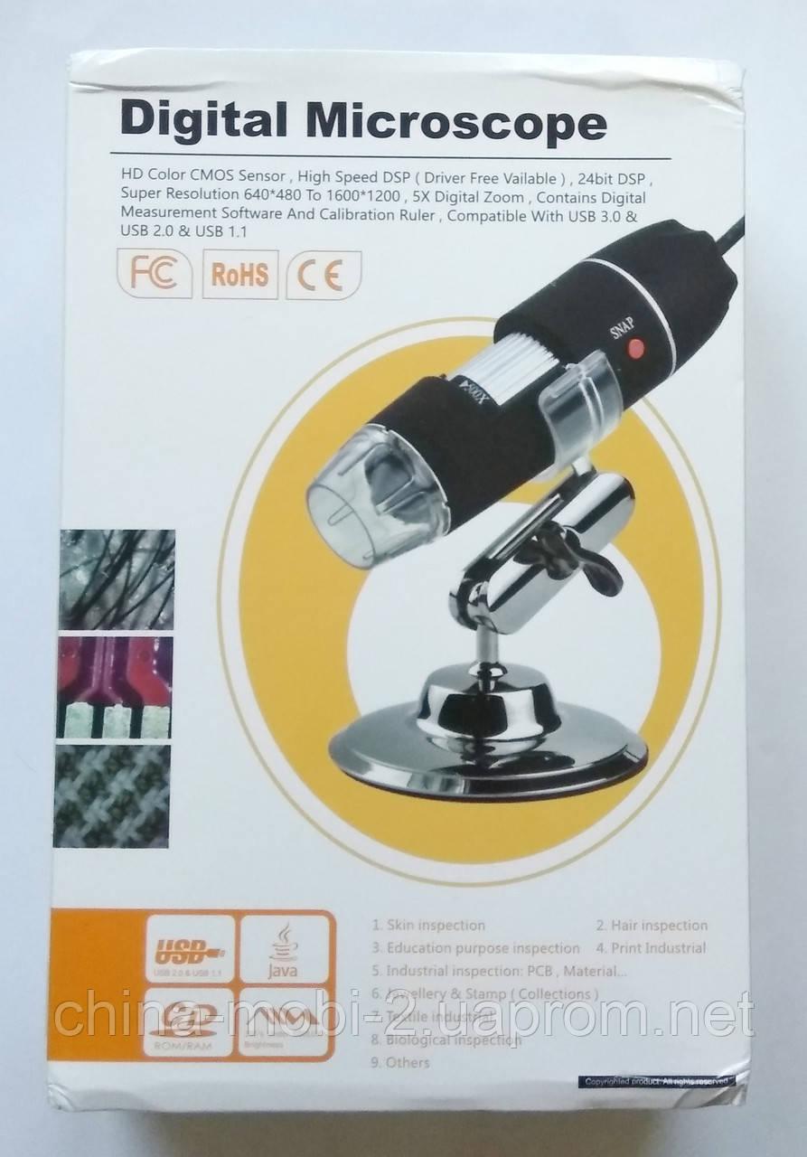 Цифровой USB микроскоп Digital Microscope U500X (20x-500x)