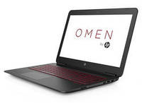 """Ноутбук 15"""" HP Omen 15-ax032ng Black (W9U29EA) 15.6"""" (-) матовый"""