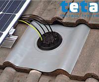 Dektite Multicable Solar Flashing DNLS10MB, 0-35 мм, 0-45°, 490х410 мм, Nu-Lead (акриловое)