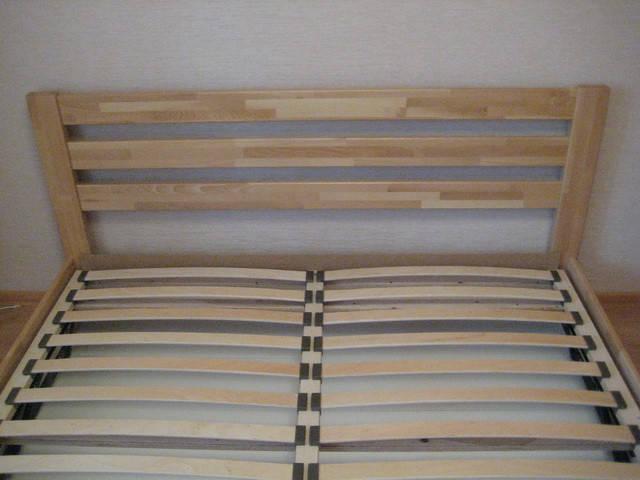 Кровать Селена в цвете 102 - Бук натуральный (Щит)