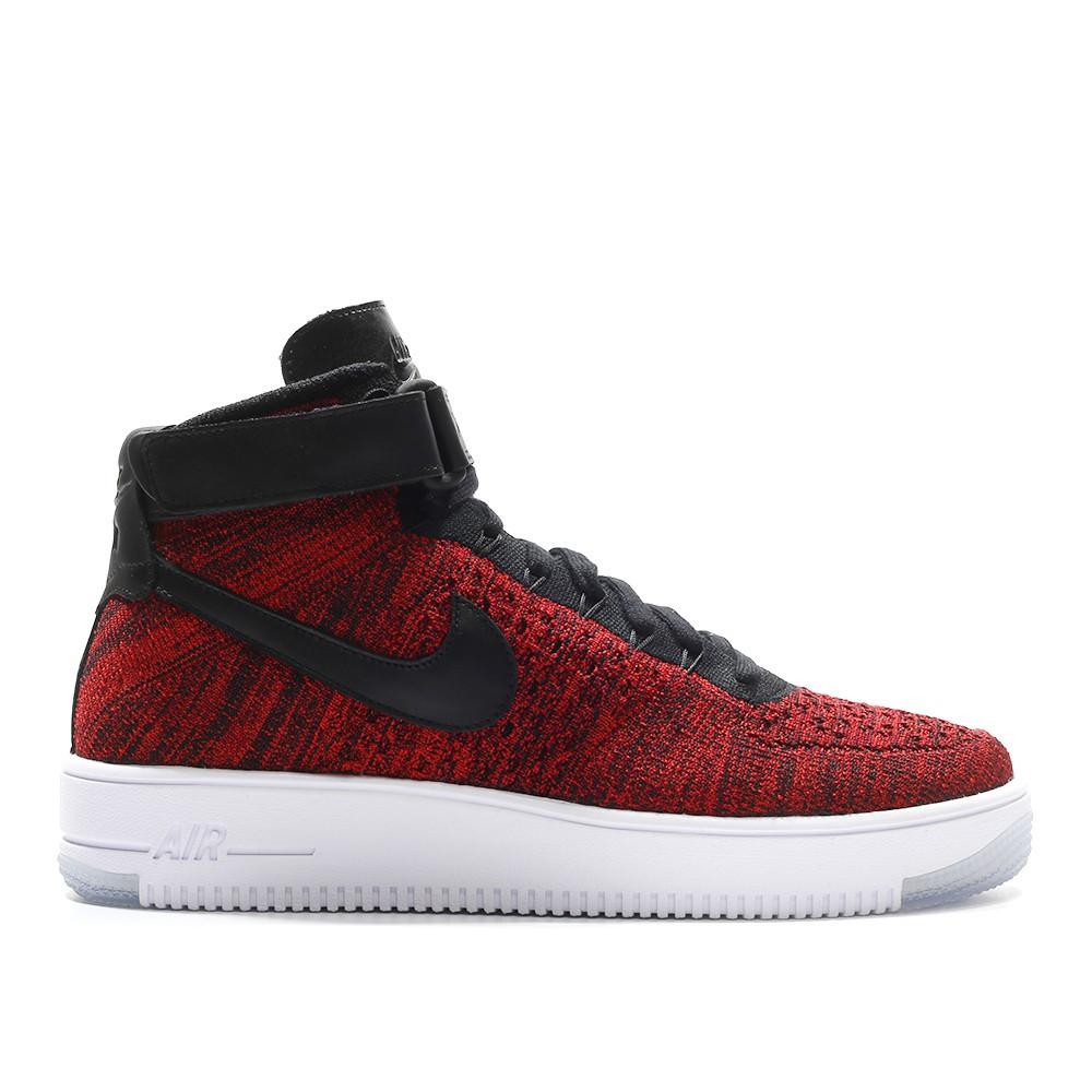 8910b58f Кроссовки Nike Air Force Ultra Flyknit Mid Red Black - Интернет магазин  обуви «im-