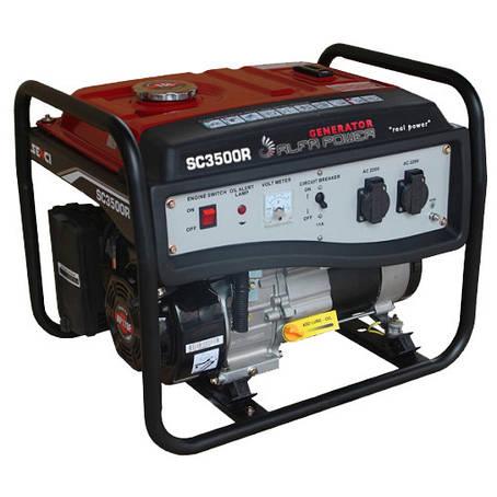 Бензиновий генератор SENCI SC3500-Е, фото 2