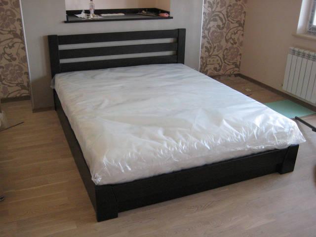 Кровать Селена в цвете 106 - Венге (Массив)