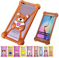Силиконовый чехол бампер для Samsung Galaxy S Advance I9070 детский