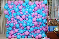 Фотозона стенд из шаров