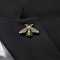 Bow Tie House™ Брошь винтажная в виде пчелы