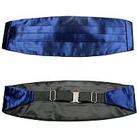 Tie Пояс камербанд темно-синий (кушак)