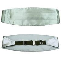 Tie Пояс камербанд серый (кушак)
