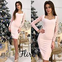 Платье с поясом flirt, фото 1