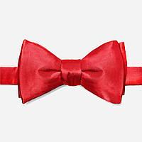 Красная мужская шелковая галстук-бабочка