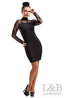 Вечернее платье Наоми черный